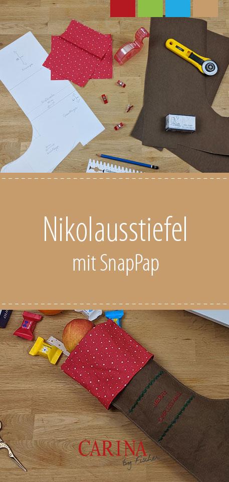 Nikolausstiefel mit SnapPap